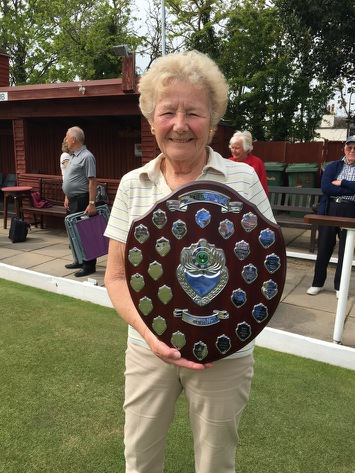 Jean Hughes, Ladies Veterans Merit winner 2016