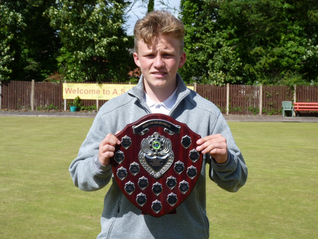 2016 Merseyside Junior Merit winner, Jordan McDermott