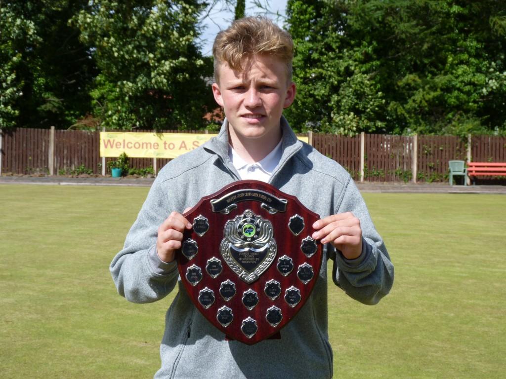 2016 Merseyside Junior Merit winner, Jordan McDermott