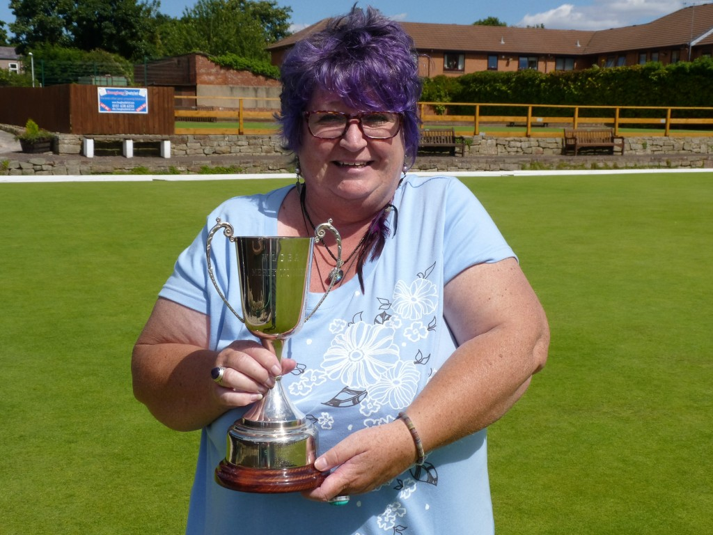 Karen Smith, the 2016 Merseyside Ladies Champion